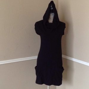 Cashmere Cotton Cowl Pockets Sleeveless Soft!